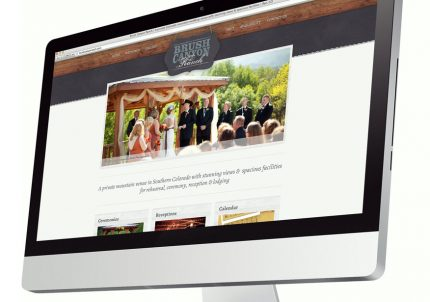 Web Design for Brush Canyon Ranch