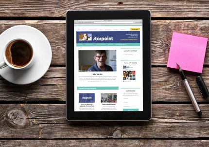 Web design and development for Starpoint