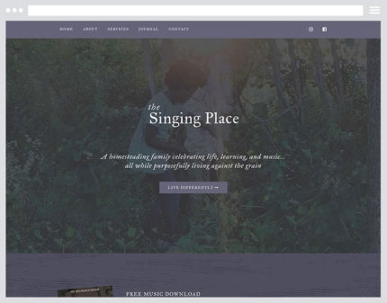 The Singing Place