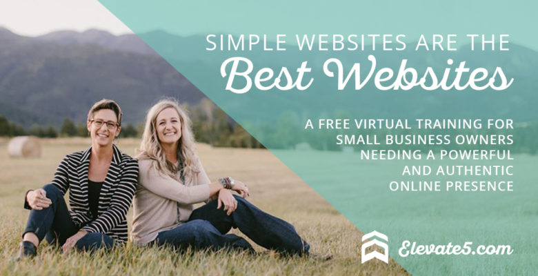 Simple Websites are the Best Websites