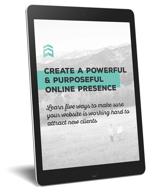 Create a Powerful and Purposeful Online Presence!