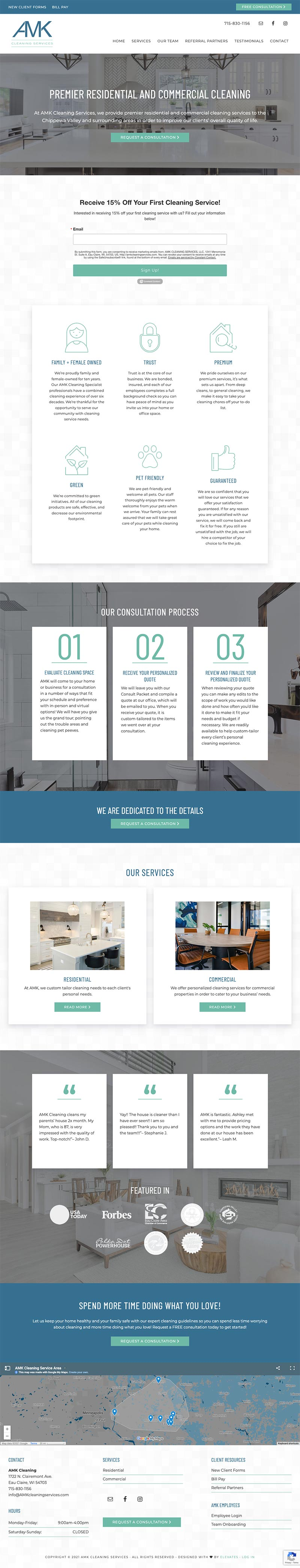 AMK Cleaning Services