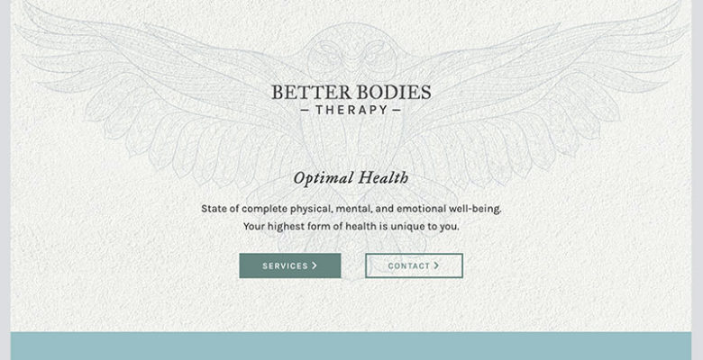 Better Bodies Therapy